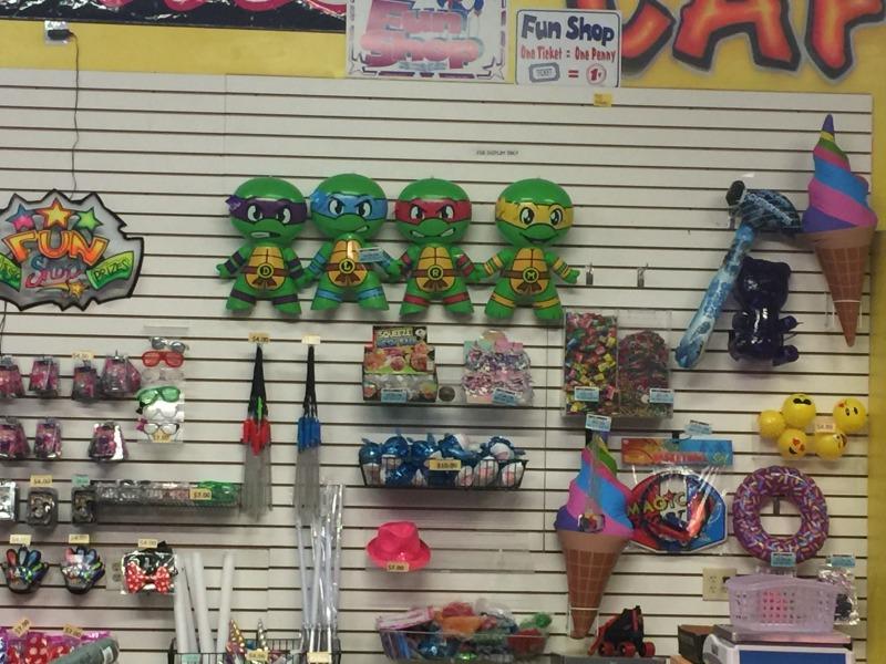 Arcade Games & Stuff Shop Prizes